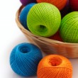 Several balls for crochet — Stock Photo #16851537