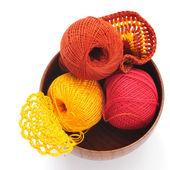 用针织、 布纱 — 图库照片