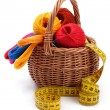 Craft basket — Stock Photo