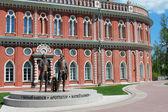 Monument to Vasily Bazhenov and Matvei Kazakov in the State hist — Stock Photo