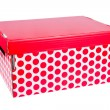 Red box — Stock Photo #19405715