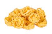 Italian pasta: tagliatelle — Foto de Stock