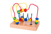 Colorful wooden toy — Stock Photo