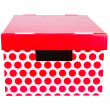 Stock Photo: Red box
