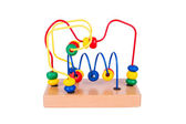 Colorful wooden toy — Stockfoto