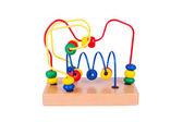 Barevné dřevěné hračky — Stock fotografie