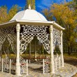 Stock Photo: Gazebo in autumn park