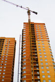 High rise construction — Stock Photo