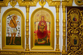 Iconostasis in the Orthodox Church — Stock Photo