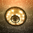 Chandelier texture background — Stock Photo