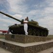 Monument of tank — Stock Photo #20320135