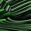 Stockfoto: Green striped background