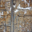 Stock Photo: Brown painted weathered wood texture