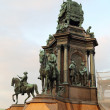 Maria Theresia Monument - Stock Photo