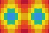 Cuadros multicoloras — Foto de Stock