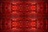 Old red coinage background — Stock Photo