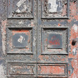 Iron Decorative Door Antiquity — Stock Photo