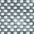 Metal cubes pattern — Stock Photo