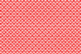 Red and white tablecloth — Stock Photo
