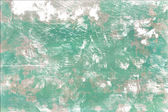 Scratched green wall background — 图库照片