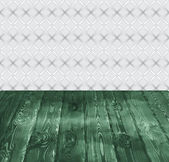 Vector background of boards and vintage wall — Vector de stock