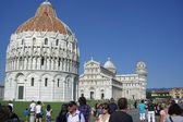 Square cathedral pisa — Stock Photo
