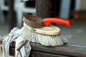 Brush for horse — Stockfoto