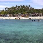 Village on Mabul Island — Stock Photo