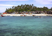 Village on Mabul Island — Stockfoto