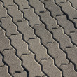 Detail of tiles at the street — Stock Photo #29256889