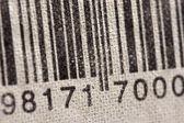 Fond de codes à barres — Photo