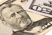 Grant on the fifty dollar bill — Stock Photo