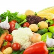 Different Vegetables / Big Assortment of Food — Stock Photo #12459454