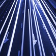 Abstract  Traffic Road Background / Blue Toned - Stock Photo