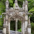 Old European Arhitecture in the park - Quinta da Regaleira Palac — Stock Photo