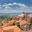 Panorama of mountain european village - Monsanto - Portugal — Stock Photo