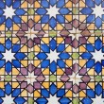 Vintage Tiles - Pattern - Architectural decoration — Stock Photo #27416857