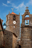 Monsanto village with the bell tower - Portugal — Stock Photo