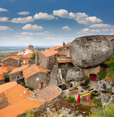 Monsanto village with the bell tower , Portugal , Europe — Stock Photo
