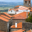 European small town, Monsanto - Portugal — Stock Photo