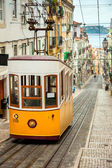 Lisbon's Gloria Funicular - Portugal — Stock Photo