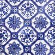 Traditional Portugese Tile (azulejos), Lisbon, Europe — Stock Photo
