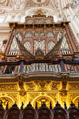 Antique Organ inside The Cathedral and former Great Mosque of Co — Zdjęcie stockowe
