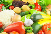 Organic Fresh Healthy Vegetables - Food Background — Stock Photo