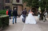 Marriage in Bruges, Belgium — Foto Stock