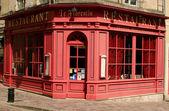 Restaurant, Bayeux, France — Stock Photo