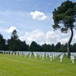 Normandy cemetery — Foto Stock