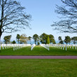 Normandy cemetery — Stock Photo