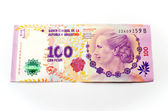 100 Argentine pesos Bill. — Stock Photo