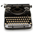 Old machine writing — Stock Photo #30437613